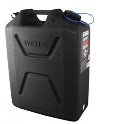 Pure 4Runner Accessories Wavian Heavy Duty Plastic 5 Gallon Water Can Black (1 can) [3215] - Brand new, heavy duty plastic water cans . Made in Australia for the Military. They are BPA free, food grade, and UV stabilized for extended outdoor use. Opaque resin inhibits bacterial growth. Textured non-slip surface for grip. Breather for No-Glug pouring. Ideal for storage of drinking water. Holds