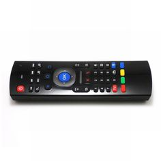 2.4ghz Air Mouse Mini Wireless Keyboard Infrared Remote Control 3-Gyro + 3-Gsensor Voice Switch