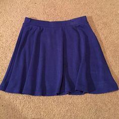 Skater Skirt Royal Blue Forever 21 royal blue skater skirt size S Forever 21 Skirts Mini
