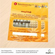 Flyer Designed For Swarnanjali Jewellery