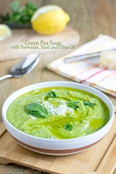 Green Pea Soup - #soup #foodporn #Dan330 http://livedan330.com/2015/01/05/green-pea-soup/