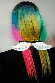 pretty rainbow ~wow...different, I love it.