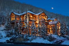 741 Mountain Village Boulevard, Mountain Village, United States, CO is a luxury real estate listing for Sale by Mansion Global. Mountain Village, Mountain Homes, Casas Texas, Architecture Restaurant, Restaurant Design, Dream Mansion, H & M Home, Luxury Homes Dream Houses, Log Cabin Homes