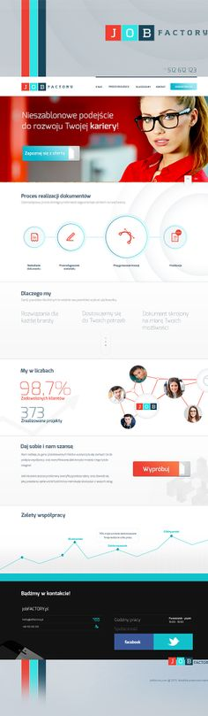 JOB Factory by Michal Augustynowicz, via Behance