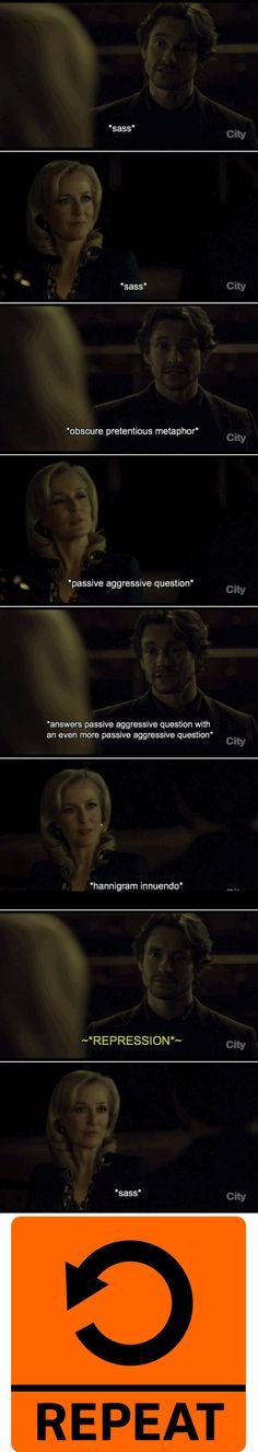 A Summary. Hannibal season 3. Source: giovanni-broccaccio.tumblr
