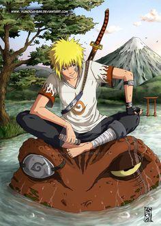 Minato Namikaze (young?) Naruto Shippuden