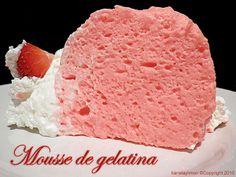 Kanela y Limón: Mousse de gelatina / Paso a paso