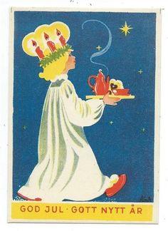 Swedish Christmas, Christmas Past, Merry Christmas And Happy New Year, Scandinavian Christmas, Scandinavian Art, Magical Christmas, Xmas, Christmas Figurines, Vintage Christmas Ornaments