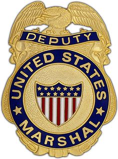 Deputy United States Marshal Badge  This great looking replica badge represents the United States Marshals Service - the oldest federal law enforcement agency in the United States. A U.S. Deputy Marshall is critical to protecting the effectiveness of the U.S. judicial system. $49.95 CLICK: http://www.agentgearusa.com/item/153_deputy_united_states_marshal_badge