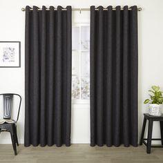 Franklin Granite - Readymade Triple-Weave Eyelet Curtain - Curtain Studio buy curtains online