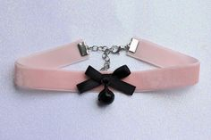 Pastel goth choker from poison tragic