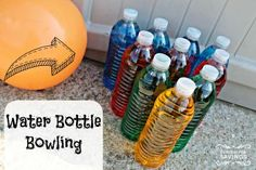 Water Bottle Bowling - Fun Summer Activity