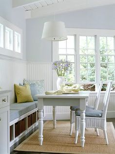 Just beautiful - lovely kitchen nook.