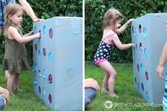 Forget the pinata for the next birthday party and consider making your own DIY punch box! Each child gets a turn to have some fun and get a prize!