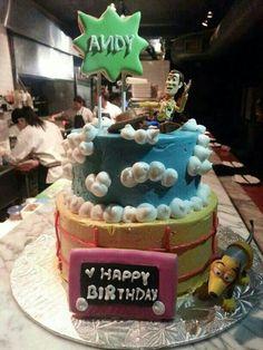 La Bee - Customized Toy Story Cake (No Fondant)