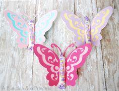 Vlinders met wat lekkers erin.