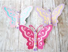 Smarties candy butterflies- fun DIY craft!