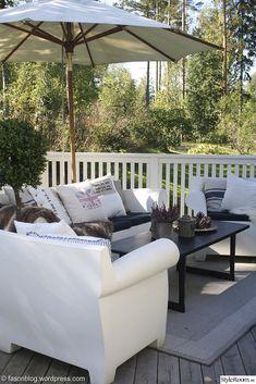 Philippe Stark for Kartell on veranda