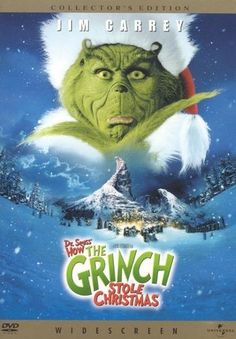 Dr. Seuss' How the Grinch Stole Christmas [WS] [DVD] [Eng/Fre] [2000]
