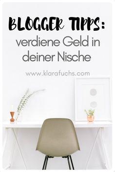 Mit dem Bloggen Geld verdienen - Heb dich von anderen ab - KlaraFuchs.com