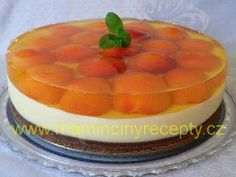 Krupicový dort Cheesecake, Food And Drink, Treats, Fish, Sweet, Desserts, Cakes, Sweet Like Candy, Candy