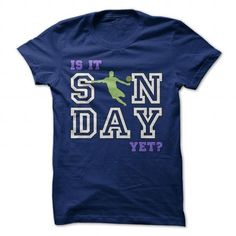 Is it SUNDAY yet? - Soccer Shirts - #tshirt with sayings #sweatshirt dress. PURCHASE NOW => https://www.sunfrog.com/Sports/Is-it-SUNDAY-yet--Soccer-Shirts-NavyBlue-Guys.html?68278