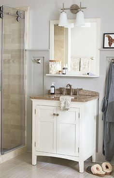 You don't have to be rich to make a bath look like a million bucks. Achieve a high-end look for less with these ideas.