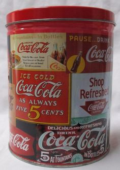 """Vintage 1993 COCA-COLA Advertising Tin with 700 Piece Jigsaw Puzzle 12""""x34"""" NEW #CocaCola"""