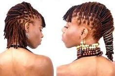 Style for Short Locs by Thierry Baptiste