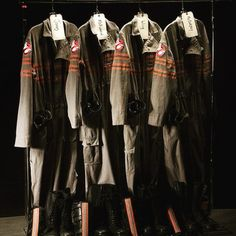 The NEW Ghostbusters uniforms! #ghostbusters #reboot #cosplay