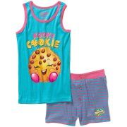 Shopkins Girls' Kooky Cookie Tank Sleepwear Set