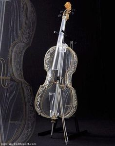 I found 'Crystal Glass Violin' on Wish, check it out!