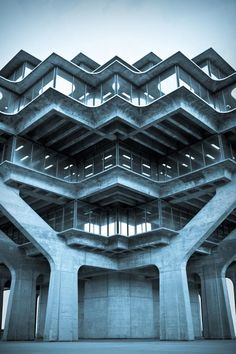 Brutal ... Geisel Library at UCSD Campus (La Jolla) photographed by Marcus Avedis