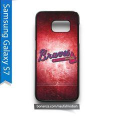 Atlanta Braves Logo Samsung Galaxy S7 Case Cover