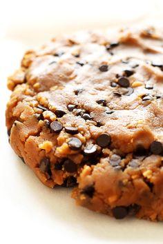 EASY EDIBLE Vegan Peanut Butter CHOCOLATE CHIP Cookie Dough!! #vegan