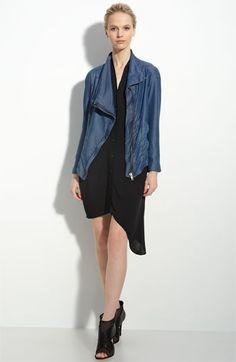 Helmut Lang Draped Jacket: Made of Tencel lyocell, $335 #Jacket #Helmut Lang