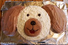 Wonderful Picture Of Dog Birthday Cake Recipes Easy What A Dish Puppy