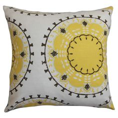 Found it at AllModern - Edolie Throw Pillow in Yellow