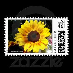 Sunflower and Friends Bouquet Postage ($23.55) | Stationery & Postage: http://www.zazzle.com/bluebeachsong*/gifts?cg=196561712040649018 & http://www.zazzle.com/mhevia*/gifts?cg=196619517871327708