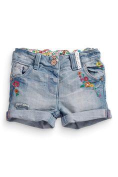 Buy Denim Embellished Shorts (3mths-6yrs) from the Next UK online shop