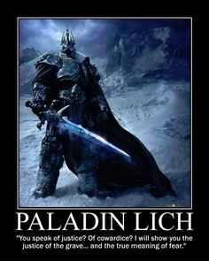 The Paladin of Tyranny, if you want to be evil but be a paladin!