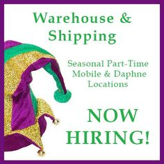 Stock Room, Mardi Gras Party, Job Opening, Party Supplies, Seasons, Warehouse, Link, Party Items, Storage Room