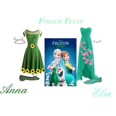Frozen Fever by tampicc on Polyvore featuring art