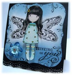 Gorjuss fairy by ~Fee~ - Cards and Paper Crafts at Splitcoaststampers