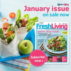Happy 2014! In the #FreshLiving January/February issue: Budget #recipes for the post-holiday pocket hangover and cooking ideas for the Chinese New Year. Click on image to get a sneak peak. #picknpay