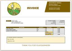 landscaping invoice template 7 invoice design template templates simple landscape sample resume