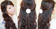 Lace Fishtail Braid Hairstyle | Hair Tutorial