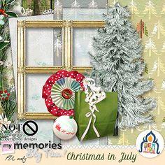 Christmas in July Blog train Benthai 's part