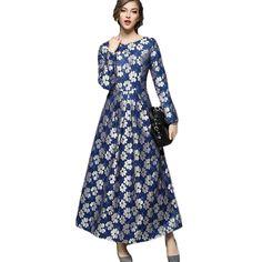 2017 big size women flower lace long dress plus size floor-length elegant women lace dresses party blue Vestido de festa