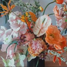 In celebration of Mother's Day, we've rounded up the New York City-based floral design studios that would be perfect to visit or glean inspiration from this season. Exotic Flowers, Fresh Flowers, Beautiful Flowers, Different Seasons, Flowering Trees, Planting Flowers, Flowers Garden, Floral Arrangements, Wedding Flowers